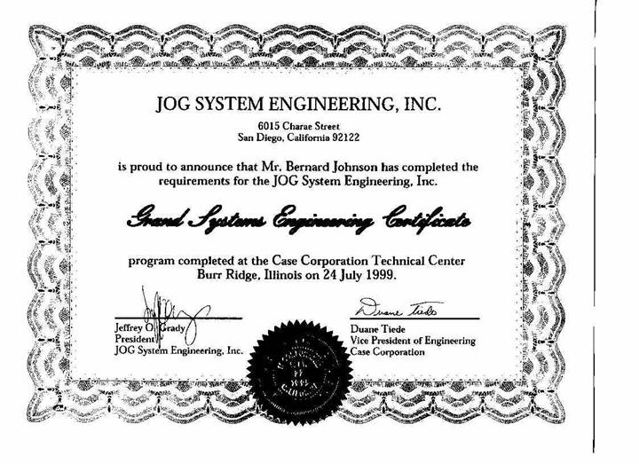 Master Black Belt, DFSS, Lean, and Systems Engineering Certifications